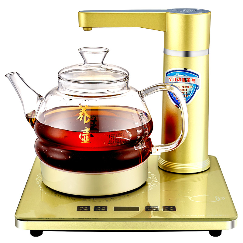 все цены на Fully automatic upper water electric kettle used for the household glass health cooking tea - ware Overheat Protection