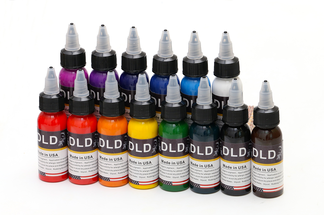 14Pcs Permanent Tattoo Ink 14 Colors Set 1oz/Bottle Tattoo Pigment Kit Body Art Painting Ink Beauty Tools Ink14Pcs Permanent Tattoo Ink 14 Colors Set 1oz/Bottle Tattoo Pigment Kit Body Art Painting Ink Beauty Tools Ink