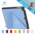 4 Shapes for Apple iPad  Mini 2 3 1 Case PU Leather Smart Cover Smartcover for iPad Mini2 Mini3 with Stylus Pen as Gift