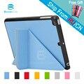 4 formas caso pu de couro para apple ipad mini 2 3 1 smart cover smartcover para ipad mini2 mini3 com uma caneta stylus como presente