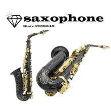 LADE New High quality Saxophone alto WSS-896 musical instruments professional E-flat sax botao de dedo saxofone mundharmonika