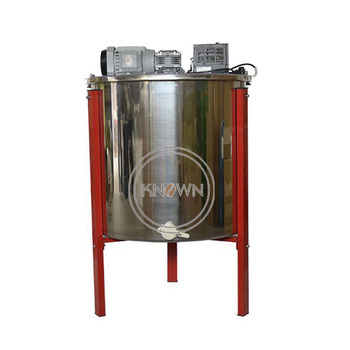 6 frames electric automatic bee honey extractor used for beekeeping equipment image
