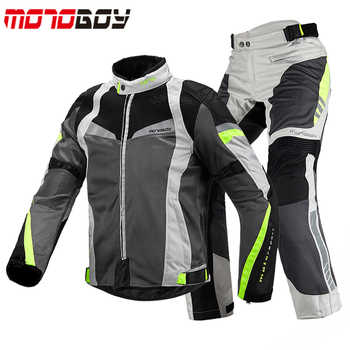 Motoboy Summer Men Motorcycle jackets& pants 600D Oxford Cloths Motocross Racing jersey Dirt Bike Riding suits - DISCOUNT ITEM  39% OFF All Category