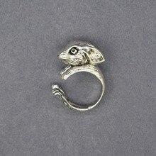fd0906f24bb5 Vendimia Netherland enanos conejo anillos Retro estilo conejo ajustable  anillos para las mujeres hombres conejo joyería