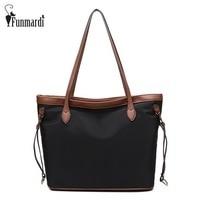 New Arrival Waterproof Oxford Women Handbag Fashion Women Bags Vintage Shoulder Bag Large Capacity Female Handbag