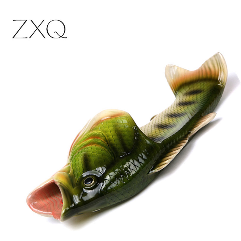 New Arrival Personality Fish Design Summer Shoess