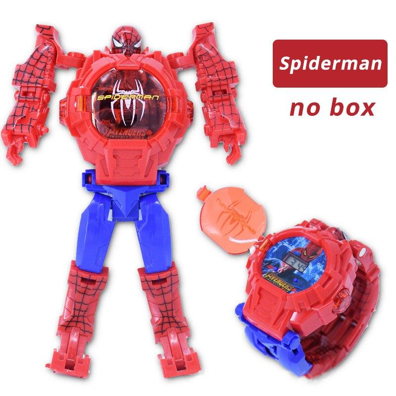 NEW Spiderman Cartoon Children Watches Robot Batman Irom Captain America Kids Watch Kids Girls Wristwatch Relogio
