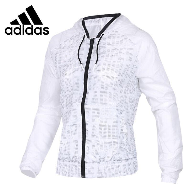 e0e3ef359 Original New Arrival 2018 Adidas NEO Label CS WB Women's jacket Hooded  Sportswear