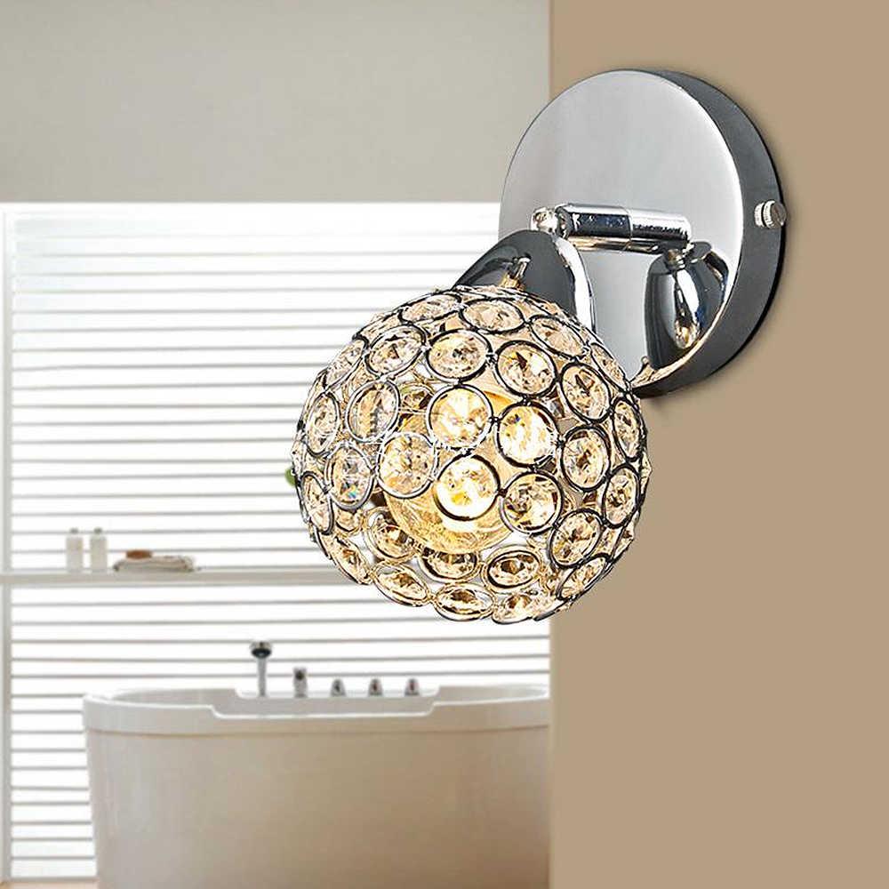 Современный хрустальный Настенный Светильник Бра K9 G9 кровать комната лестницы боковая люстра настенный светильник для домашнего декора светильник FRHA/51