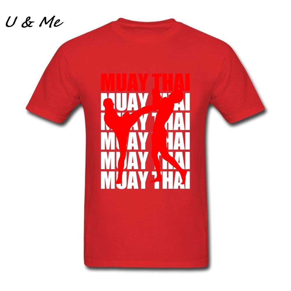 2ef58ed5 ... Muay Thai T-Shirt for Mens Business T Shirts Boxinger Gift Idea  Painting Clothing Homme ...
