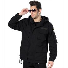 101 Men Outdoor German Military Tactical Jacket Cotton Windproof Sports Trench Army Clothing Size M-3XL(China)