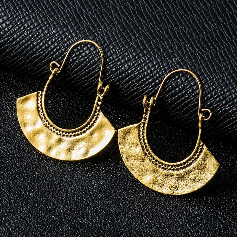 Fashion Earrings Boho Earrings Brass Jewelry Brass Earrings Tribal Gypsy Earrings Indian Jewelry