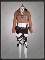 Attack on Titan Shingeki no Kyojin Erwin Smith Recon Corps Cosplay Costume &Necklace mp000897
