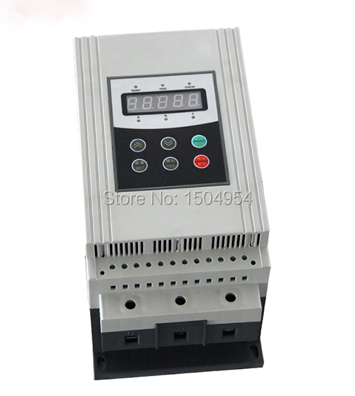 55kw soft starter 380v soft starters three phase 380vac for Single phase motor soft starter