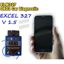 2016 Newest Excel V1 5 A Quality Super Mini ELM327 Bluetooth ELM 327 OBD II CAN