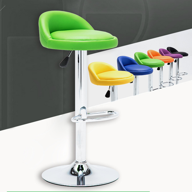 Bar Chairs Simple Design Swivel Bar Chair Lifting Bar Stool Rotatable Adjustable Height Reception/waiting Room Chair High Quality Cadeira Good For Antipyretic And Throat Soother Bar Furniture