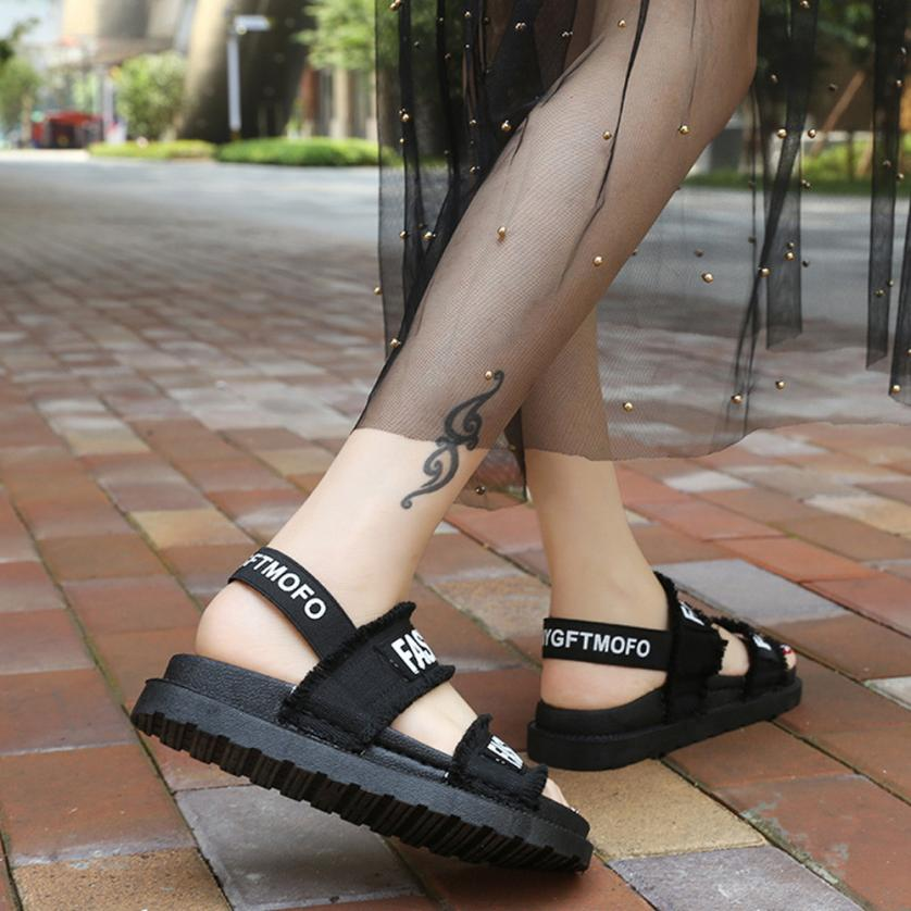 YOUYEDIAN (Ship from RU)Summer Gladiator Women Flat Fashion Shoes Casual Occasions Comfortable sandalias mujer 2018 #A30 5