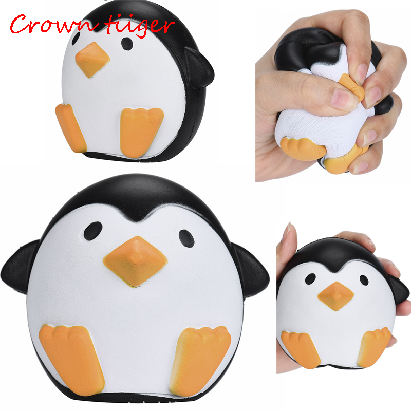 Gags & Practical Jokes Toys & Hobbies Squishy Squeeze Toy Penguin Steamed Bread Unicorn Star Horse Hamster Slow Rising For Anti Stress For Kid Gifts Moderate Price