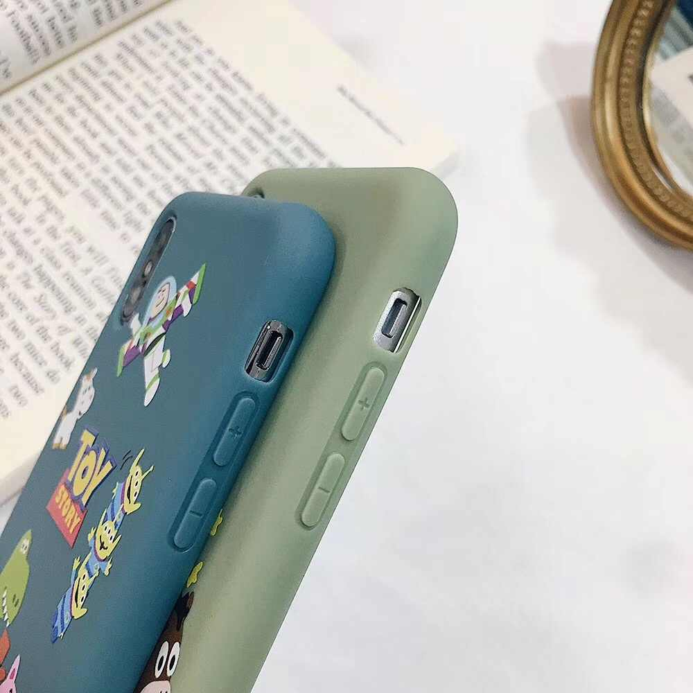"""Милый чехол для телефона из ТПУ с объемными рисунками """"История игрушек"""" Базз Вуди """"для iphone 11 Pro X XS MAX XR 7 8 6 6S PLUS, чехол с милым динозавром лотсо"""