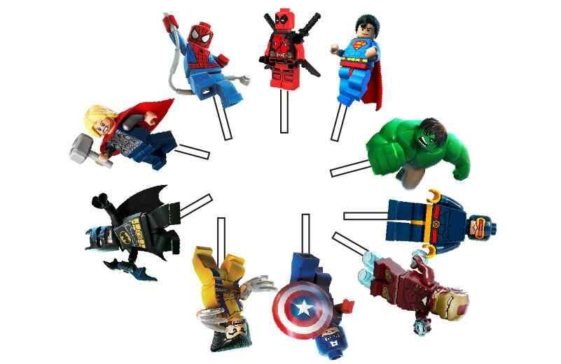 10 sztuk Avengers hero Superman kapitan ameryka Batman Hulk Iron man wykaszarki do ciastek chłopca urodziny dekoracje świąteczne dla dzieci