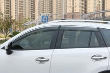 For Mazda CX-5 CX5 2012-2016 Exterior Car Door Window Wind Visor Shield Rain Sun Guard Vent Shade Cover 4*