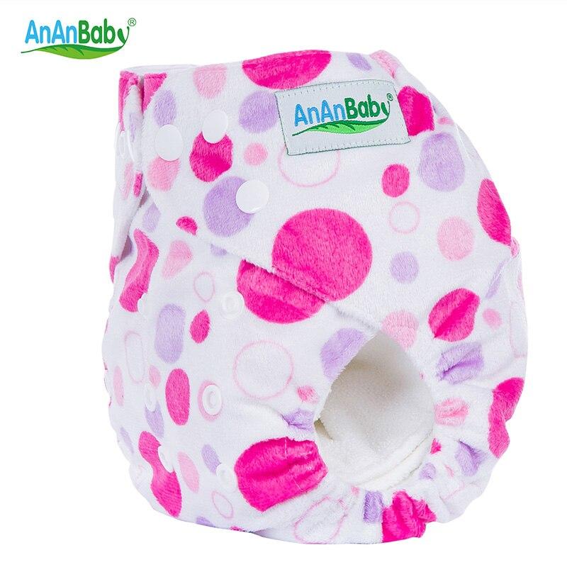 Ananbaby Pañales de bebé patrón de punto pañal de tela transpirable ...