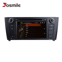 Josmile 2 Din Car DVD Player AutoRadio For BMW E87 1 Series 1 E88 E82 E81 I20 Navigation Multimedia Screen System GPS DAB+CD 3G