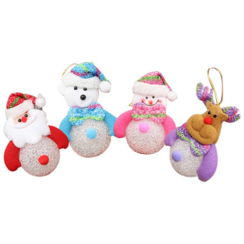 4pcs Christmas Essential Hang Decoration for Decoration Tree