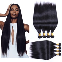 Virgin Indian hair Straight, 7A Indian virgin hair, Mixed unprocessed Indian hair bundles cheap human hair weave 10 bundles