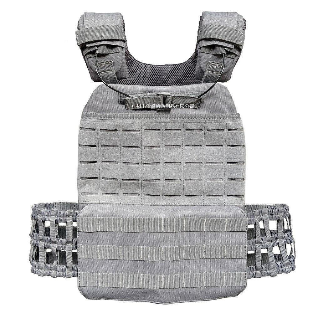 Armée ventilateur champ Combat militaire protéger gilet tactique en plein air Fitness entraînement physique Camp 600D Nylon résistant à l'usure Camo gilet