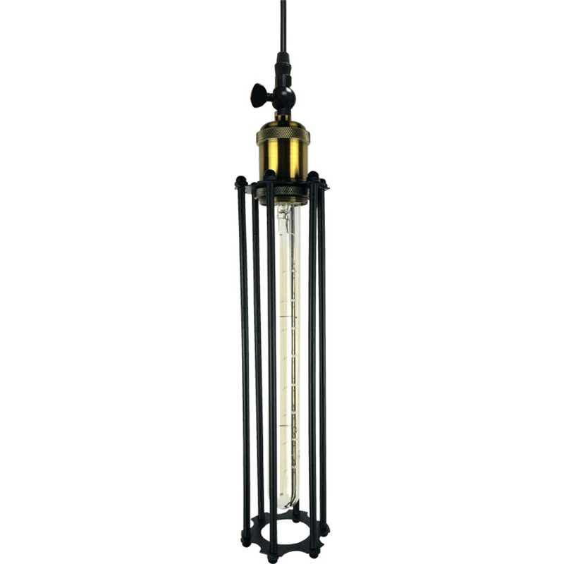 Retro Vintage American style Lights  rural industrial wind 110V/220V Pendant Lamps iron square black / golden lampshade loft Bar retro matte black iron ceiling light american industrial iron lights