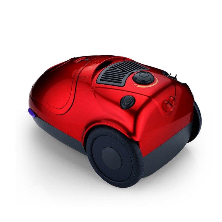Пол Пылесос 1400 Вт большой всасывания Бытовая уборочная машина для регулировки