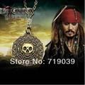 20pcs/lot Wholesale Fashion Jewelry Vintage Charm Aztec Coin Pendant Necklace Pirates of the Caribbean Necklace