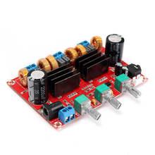 Free shipping TPA3116D2 50Wx2 100W 2 1 Channel Digital Subwoofer Power Amplifier Board 12 24V Amplifier