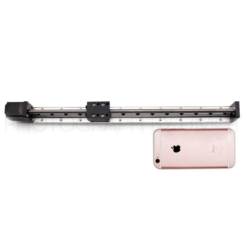 30mm largeur 300mm voyage CNC guide linéaire module chine avec U type fin de course