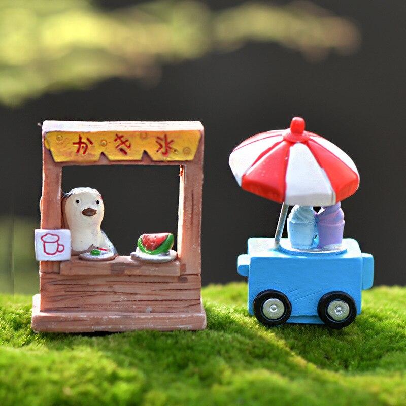 Fruit Ice Cream Shop Miniature Craft Micro Landscaping Landschaft