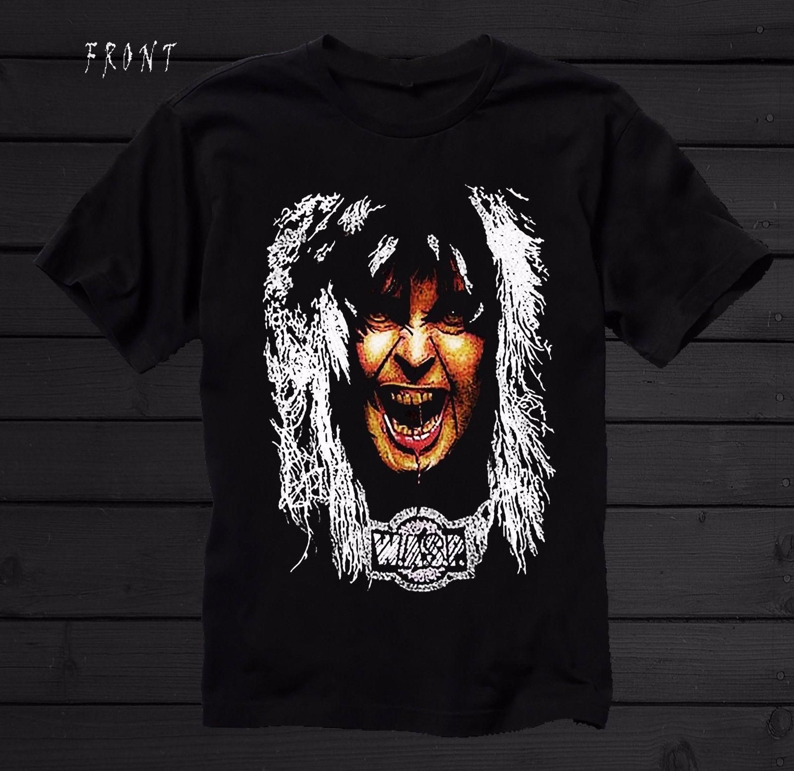 W.A.S.P.-American heavy metal bandlJudas Priest ,T-shirt-SIZES: S to 7XL