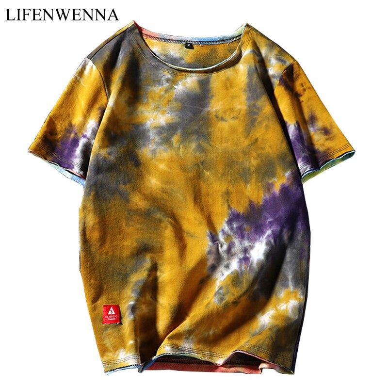 2019 नई गर्मियों में पुरुषों की कम बाजू की टी शर्ट चीनी शैली प्रिंट पुरुषों की टी शर्ट उच्च गुणवत्ता पुरुषों की आकस्मिक कपास हिप हॉप शीर्ष टीस 5XL