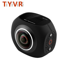 Mini 360 Camera Panoramic VR Dual fisheyes Lens Camera Virtual Reality Wi-fi VR Video Handheld Camera for Android / IOS