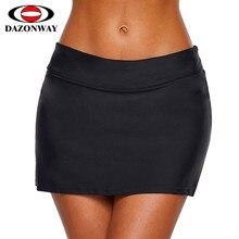 fa65804d9ae9 2019 New Women Mini Skirt Swimming Shorts Sexy Solid Color Women Swimming  Boxer Shorts Comfortable Bikini