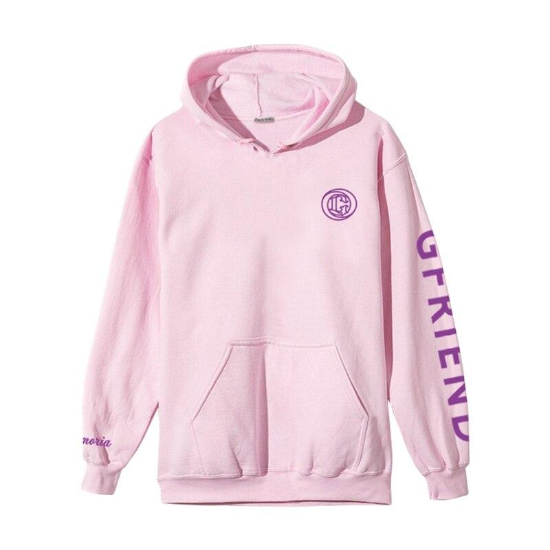 Kpop GFRIEND Cap Hoodie sweatshirts Women Men Jumper Pullover unisex hoody sweatshirt Fans Gift New (3)
