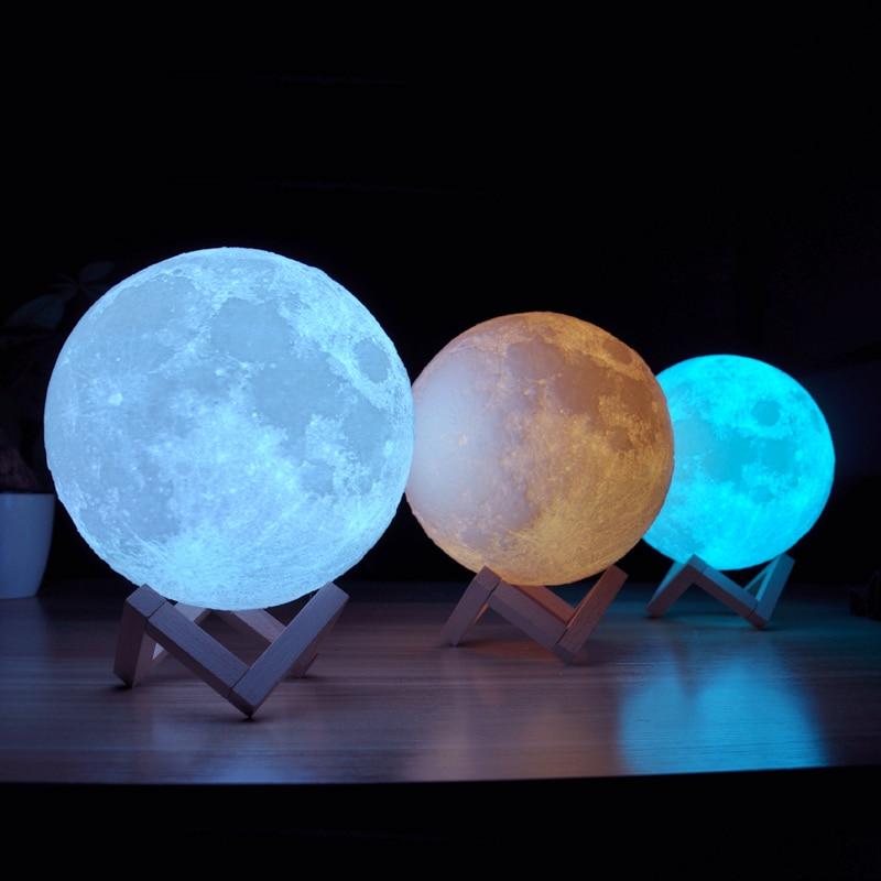Colorful Moon Lamp 1