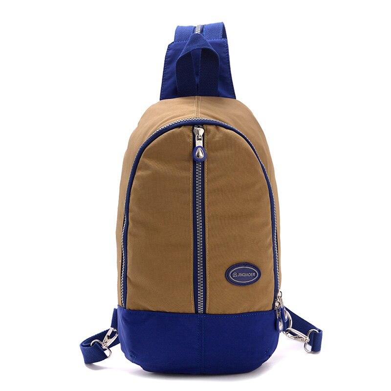 New Chest Pack Soft Waterproof Nylon Kip Style Women Backpack ...