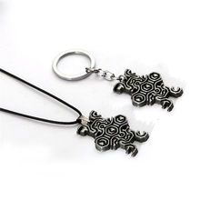 New Game Shadow of the Colossus Chaveiros Chaveiro de Metal Dog Tag Cadeia Anel Chave Lembrança llavero Dropshipping Porte Clef Jóias(China)