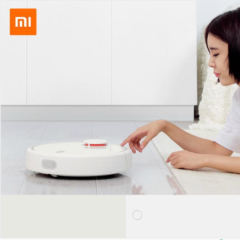 MIJIA 2017 original xiaomi mi robot vacuum cleaner for home automatic sweep dust sterilize smart planned mobile app remote contr original xiaomi mi robot vacuum