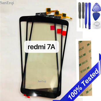 """10PCS / LOT 5.45"""" For Xiaomi Redmi 7A Touch screen Digitizer Display front glass lens"""