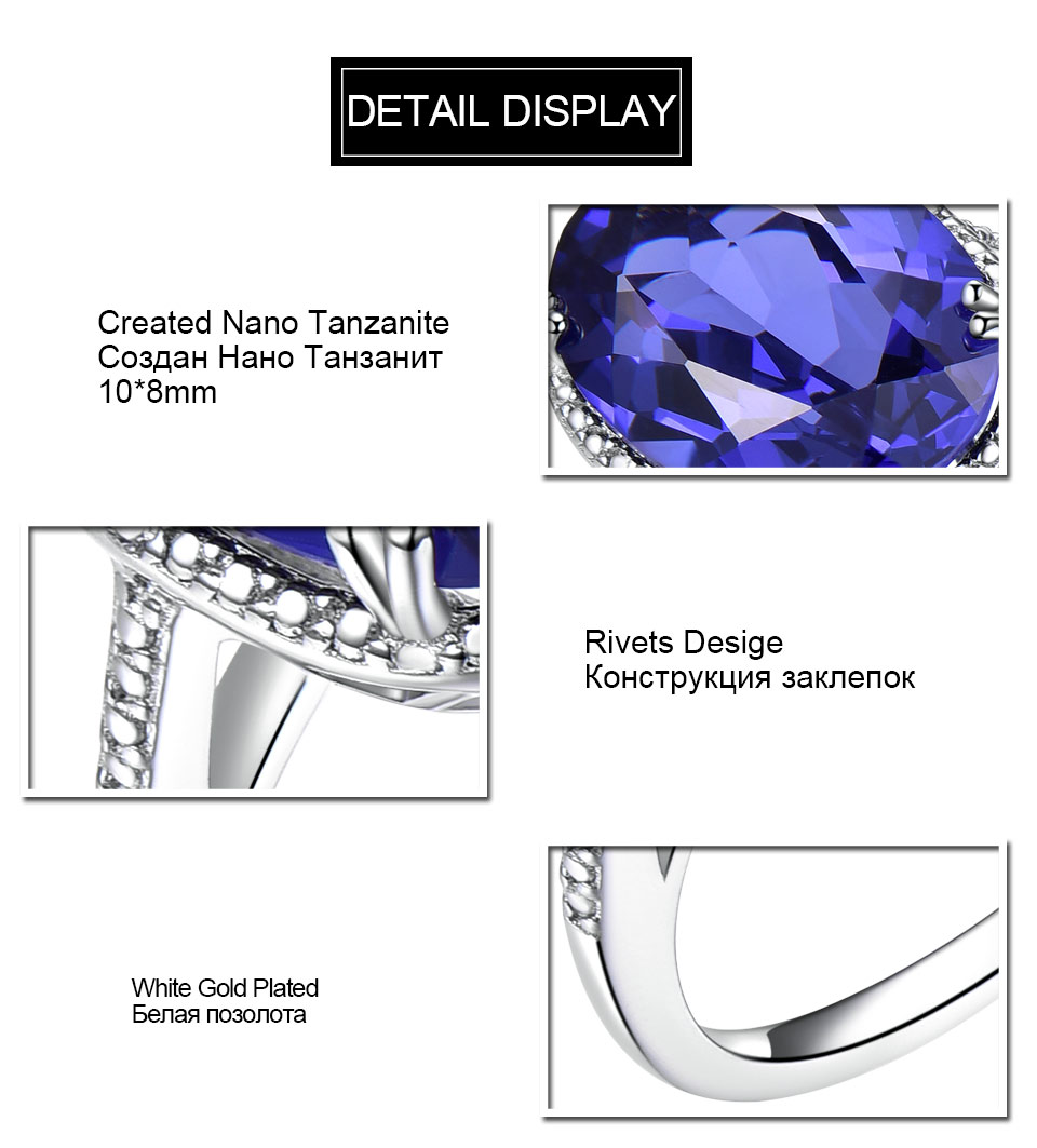 UMCHO-Tanzanite-silver-sterling-rings-for-women-RUJ071T-1 PC (5)