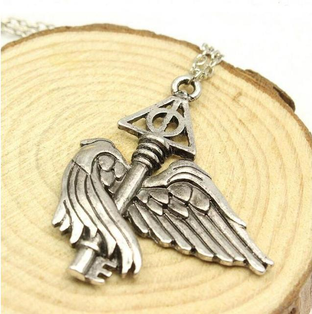 Harry Potter Deathly Hallows Flying Wing Necklace