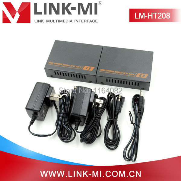 LINK-MI LM-HT208 60m HDMI Extender With IR Over Single Cat6 Cable Full HD 1080P HDMI Transmitter Receiver Kit куплю подшипник 6 208 б1