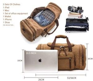 Image 3 - MARKROYAL/парусиновая обувь; складские дорожные сумки; Мужская Спортивная обувь; сумки для подростков; сумки через плечо; большая вместимость; багажные сумки на выходные